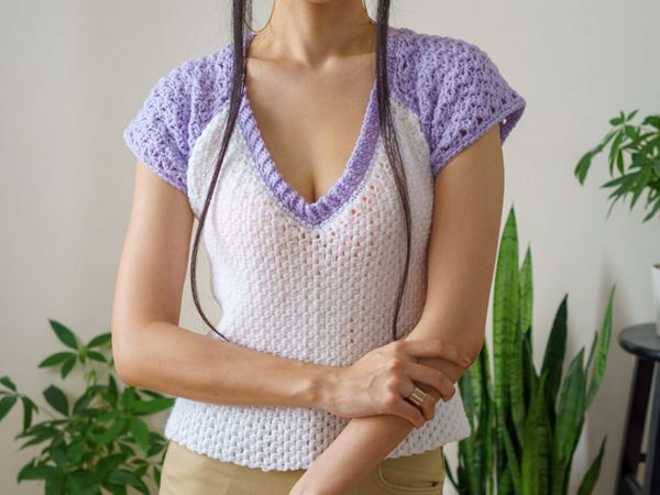 crochet Baseball T Shirt easy pattern