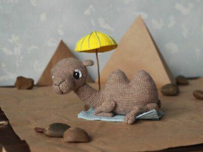 crochet Camel Amigurumi easy pattern