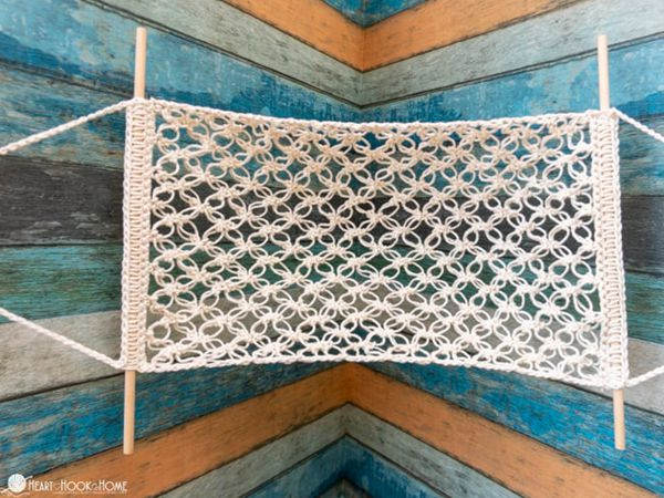 crochet Fruit Hammock free pattern