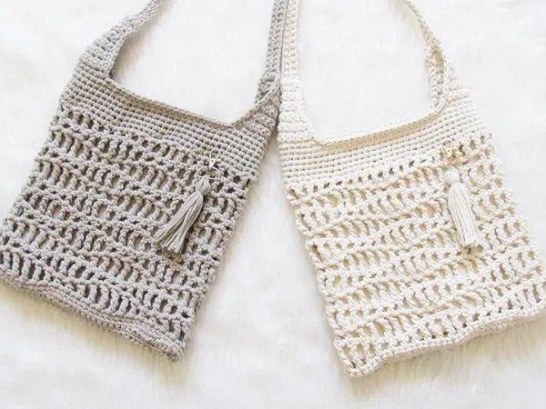 crochet Gail Crossbody Bag free pattern