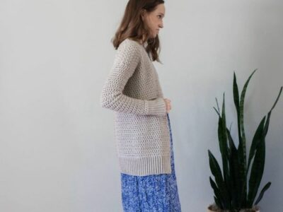 crochet Halsey Cardigan free pattern