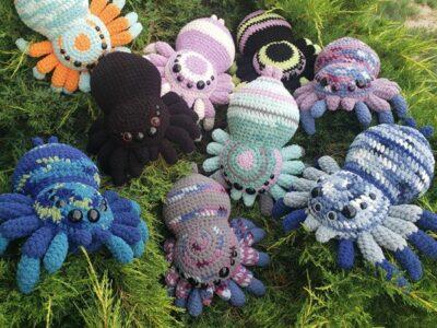 crochet Huggable Spider easy pattern