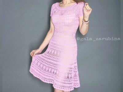 crochet Kelly Dress easy pattern