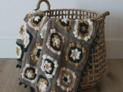 crochet Margo Baby Blanket free pattern