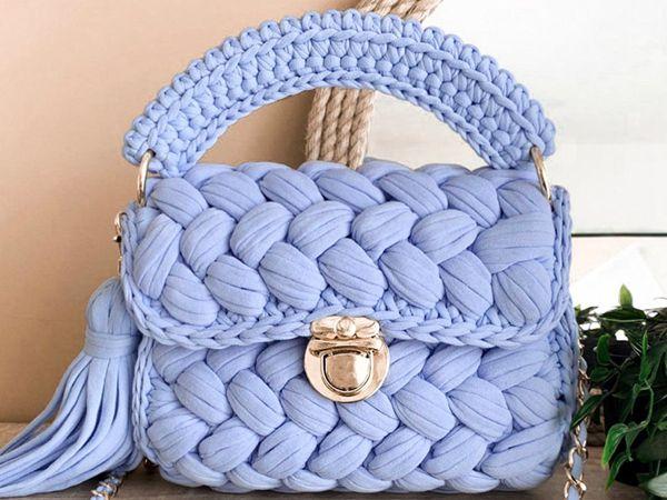crochet Marshmallow Handbag easy pattern