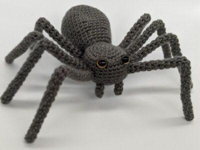 crochet Oscar the Spider easy pattern