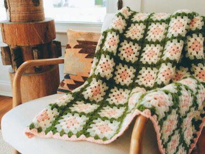 crochet Perham Afghan free pattern