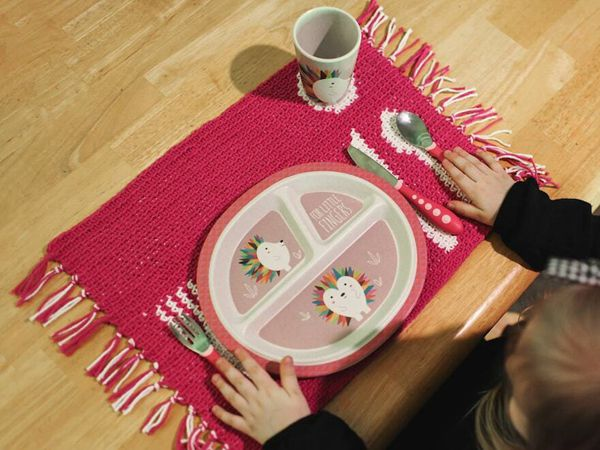 crochet Place Setting Mat easy pattern