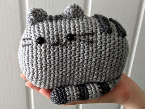 crochet Pusheen amigurumi free pattern
