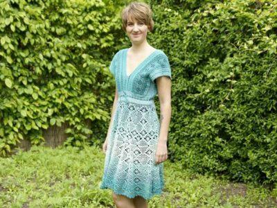 crochet Bohemian Dress easy pattern