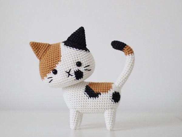 crochet Calico Cat easy pattern