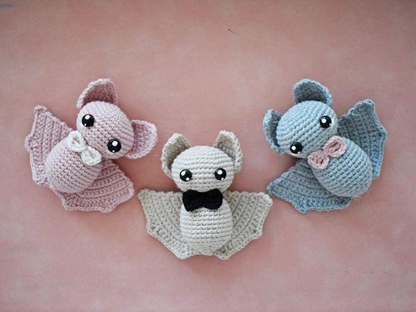 crochet Easy Halloween Bat pattern