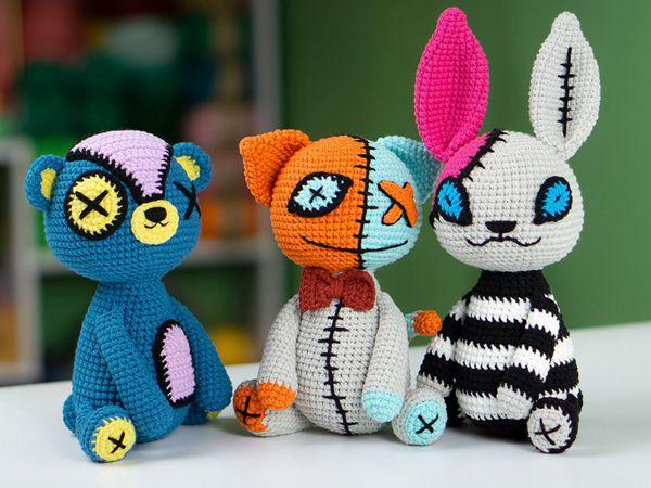 crochet Halloween Creepy 360 easy pattern