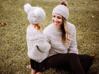 crochet Macchiato Sweater easy pattern