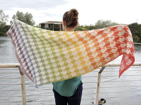 crochet Mannequin Shawl free pattern