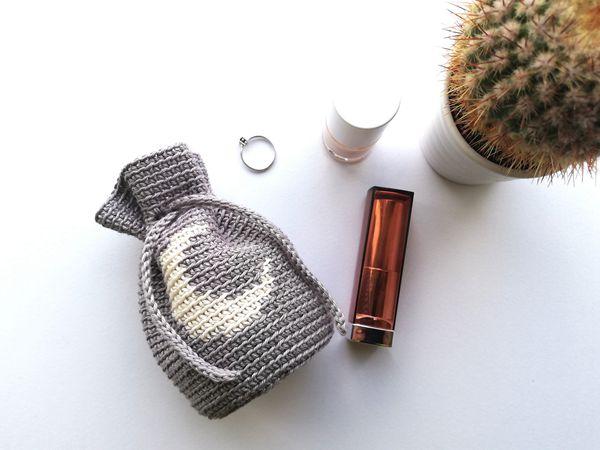 crochet Moon Bag free pattern