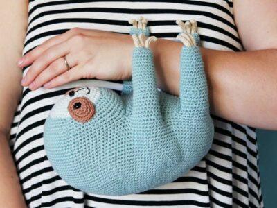 crochet Ollie The Sloth easy pattern