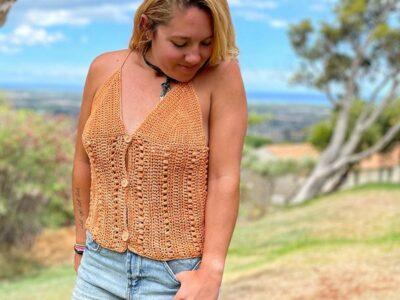 crochet The Lennon Tank free pattern