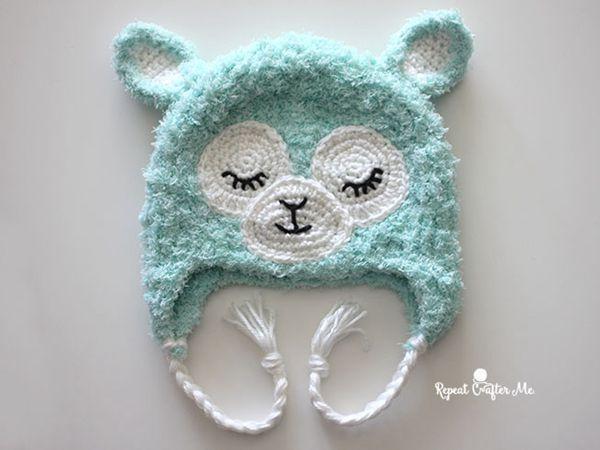 crochet llama hat free pattern