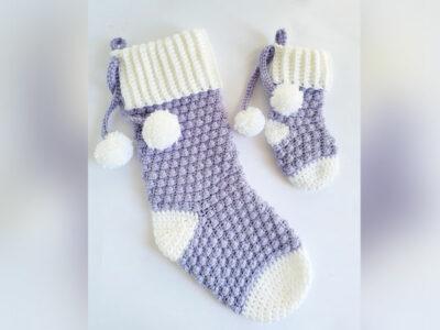 crochet Berry Beautiful Stocking free pattern