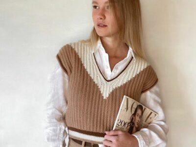 crochet Davina Vest easy pattern