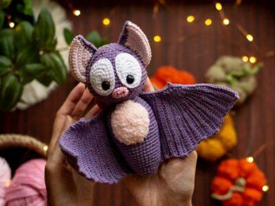 Halloween Bat Amigurumi