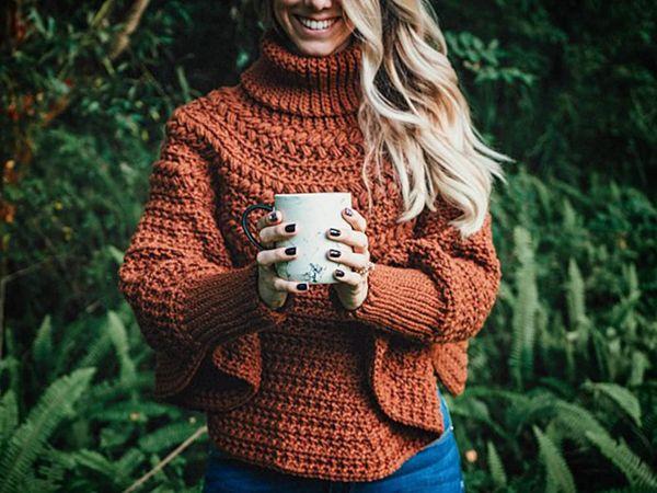 crochet Macchiato Poncho easy pattern