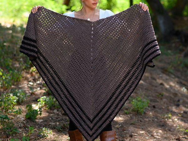 crochet Outlander Shawl free pattern