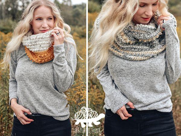 crochet Picot Scarf free pattern