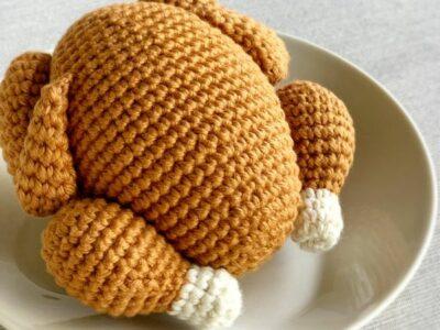 crochet Roasted Turkey easy pattern