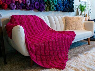 crochet Sangria Sorbet Blanket free pattern