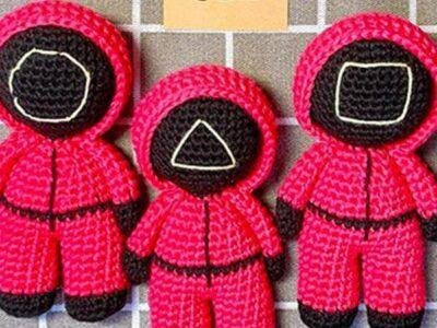 crochet Squid Game free pattern