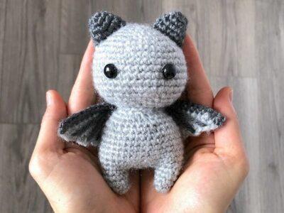 crochet the Brave Bat free pattern